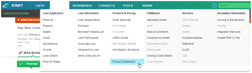 Brokered_Loans_-_Product_Dashboard_Menu.png